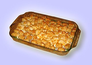 Hotdish type of casserole common to Minnesota and other Midwest American states