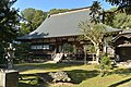 Houn-ji temple's main hall (Takaoka, Tsuchiura city, Ibaraki prefecture).jpg