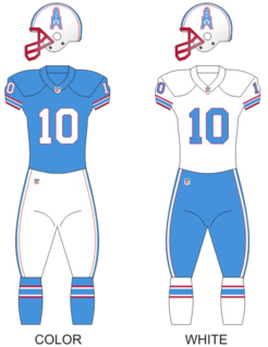 History of the Houston Oilers Former American football club in Houston, Texas, USA