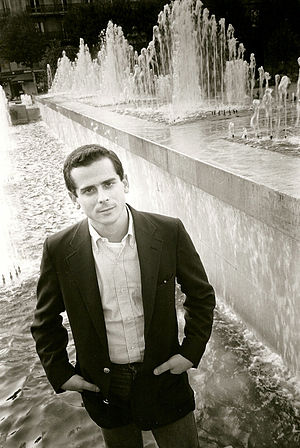 Howard Brookner - Howard Brookner photographed by Paula Court, Paris, 1986