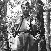 Hoxha at Odrican 1944