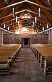 Hundige Kirke Roskilde Denmark interior from altar.jpg