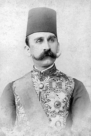 Hussein Kamel of Egypt - Hussein Kamel wearing a traditional tarboosh.