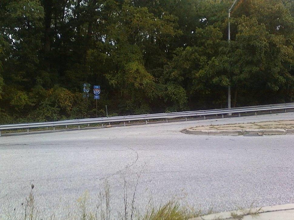 I-70 eastern terminus