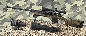 .338 Lapua Magnum - IDF Barak 338 - a militarized H-S Precision Pro Series 2000 HTR in .338 Lapua Magnum caliber