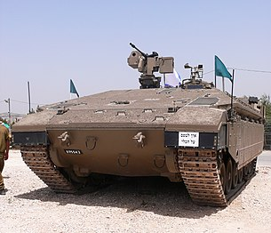 Israel Idf Army Namer Armored Personnel Carrier Based On