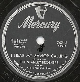 The Stanley Brothers American bluegrass duo