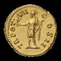 INC-1604-r Ауреус Марк Аврелий цезарь ок. 152-153 гг. (реверс).png