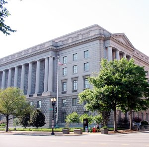 Internal Revenue Service - Internal Revenue Service Building on Constitution Avenue in Washington, D.C..
