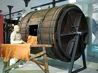 Igualada - Barrel for leather tanning, Igualada Leather Museum