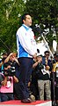 Ikiiki Ibaraki Yume Kokutai Road Cycling, Mayor Igarashi.jpg