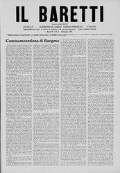 Piero Gobetti: Il Baretti - Anno IV, n. 1