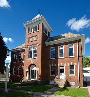 Sheffield, Illinois - Village Hall at 239 South Main Street