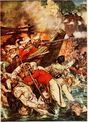 Siege of Cawnpore - Attack on 23 June 1857