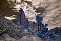 Infrared HDR Garden of the Gods Colorado (2819366752).jpg