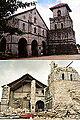 Inmaculada Concepcion Parish Church, Baclayon, Bohol (Before and After 2013 Bohol Earthquake).jpg
