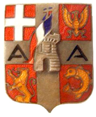 Army of the Alps - Insignia of the Army of the Alps during World War II