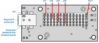 Intel Edison - Intel  Edison Breakout Board - Breakout Connectors