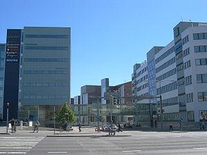 Kupittaa - Buildings on the Joukahaisenkatu