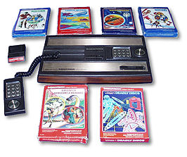 Intellivision met cartridges