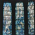Interieur, aanzicht gebrandschilderd glas-in-loodraam - Bergen - 20367922 - RCE.jpg