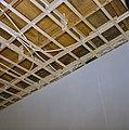 Interieur, begane grond, linker voorkamer, plafond, beschilderde moerbalken - 20000811 - RCE.jpg