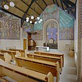 Interieur, overzicht altaarnis - Leiden - 20336670 - RCE.jpg