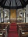 Interior of St Peter's Church, Greenham - geograph.org.uk - 1267374.jpg