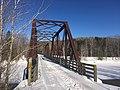 International Appalachian Trail - Rail Trail Train Bridge in Upsalquitch, New Brunswick.jpg
