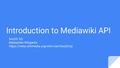 Introduction to Mediawiki API.pdf
