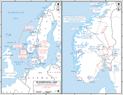 Norwegian Campaign Wikipedia - Norway map wiki