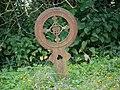 Iron grave marker, Trafalgar Park - geograph.org.uk - 871239.jpg