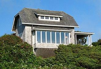 National Register of Historic Places listings in Tillamook County, Oregon - Image: Isom Cottage Manzanita Oregon