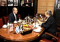 Israeli Defense Minister Barak and Special Envoy Mitchell Meet (4709026460).jpg