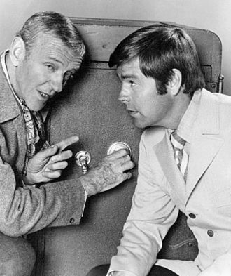 It Takes a Thief (1968 TV series) - Fred Astaire and Robert Wagner, 1969.