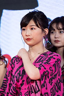 "Ito Sairi from ""Life Untitled"" at Opening Ceremony of the Tokyo International Film Festival 2019 (49013287848).jpg"