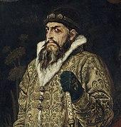 Lo zar Ivan il Terribile dipinto da Victor Vasnetsov