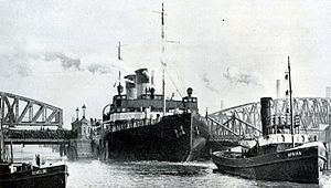 Jääkarhu - Jääkarhu leaving for sea trials in Rotterdam.