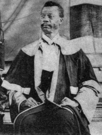 Chief Justice of Liberia - Image: J. J. Dossen