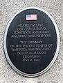 JAV ambasada, lenta Kaune, Putvinskio 68.JPG