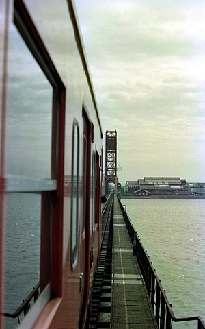 Kagoshima Main Line - Chikugogawa Bridge on the Saga line in 1981