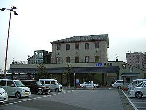 Nagahama Station - The east entrance of Nagahama Station