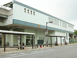Ogawa Station (Aichi) Railway station in Higashiura, Aichi Prefecture, Japan
