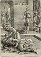 Jaël doodt Sisera Kleine serie Vrouwenlisten (serietitel), RP-P-OB-1803.jpg