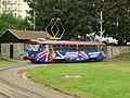 Jablonec nad Nisou, tramvaj na konečné v Tyršových sadech.jpg
