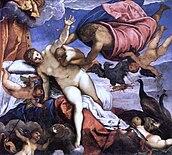 L'origine della Via Lattea di Jacopo Tintoretto.