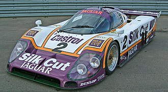 "Tom Walkinshaw Racing - TWR won the 1988 FIA World Sports Prototype Championship for Teams as ""Silk Cut Jaguar"""