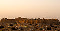 Jaisalmer Fort (Sonar Qila or Golden Fort) Viewed from the North at Sunrise.jpg