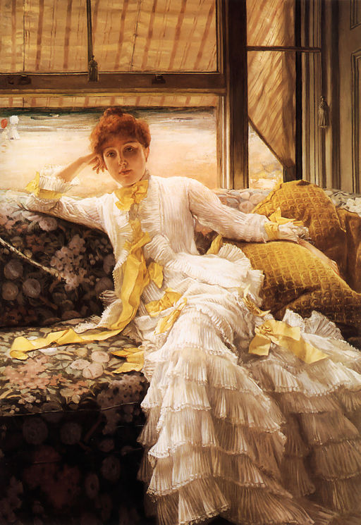 """Seaside"" by James Tissot"