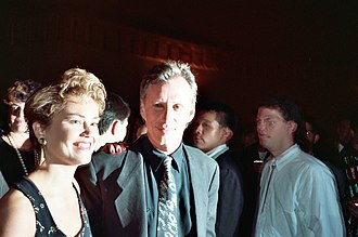 James Woods - Woods at an AIDS Project Los Angeles benefit in September 1990